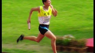 【 104 年全國中等學校運動會 】國男1600 MR 預賽(破大會紀錄)及跳高金牌 ---- 4/29