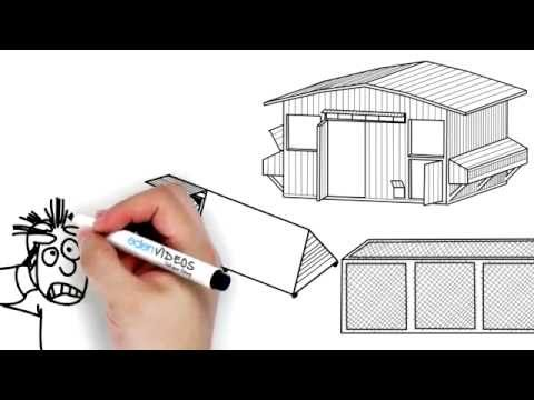 Best DIY Chicken Coop Designs & Projects-Poultry Sheds-Hens Chicken Coops+Drawings-Home Chicken Coop