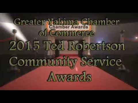 2015 Ted Robertson Community Service Award Presentation - Honoring Dr. Linda Kaminski and Ron King