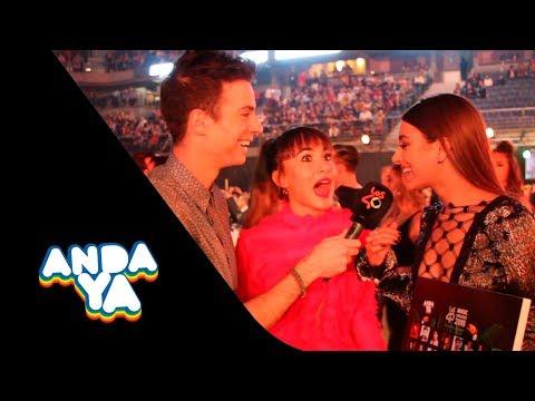 """Aitana: """"Rosalía me pone muchísimo"""" ¡Los invitados de LOS40  AWARDS juegan al """"Andayinder"""""""