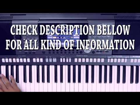 हिंदी पियानो लेसन १ (HINDI PIANO LESSON 1) day 1