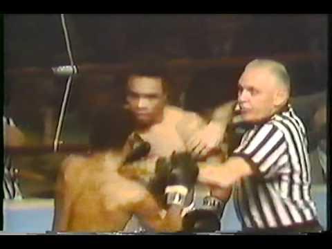 Sugar Ray Leonard vs Johnny Gant