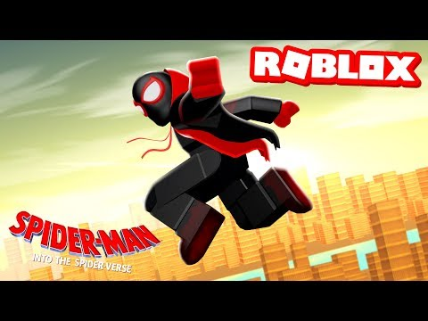 SPIDER-MAN: INTO THE SPIDER-VERSE MOVIE IN ROBLOX