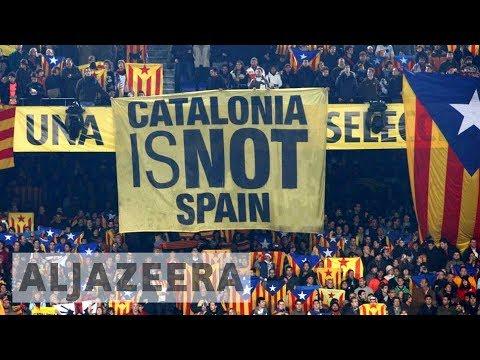Catalonia launches strike in bid to pressure Spain to recognise secession vote
