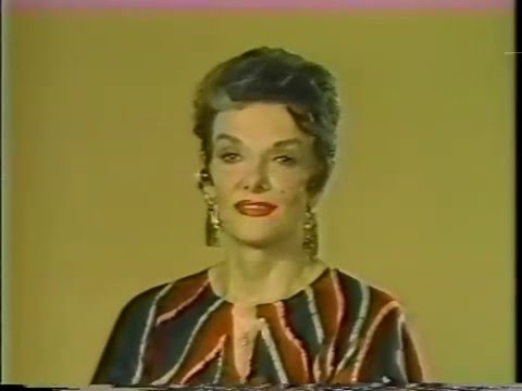 Jane Russell, Bryant Gumbel--1984 TV Interview