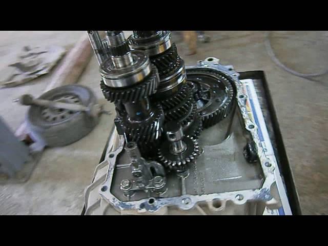 Фото к видео: Ремонт тросиковой МКПП.