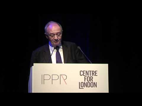 Ken Livingstone announces his campaign for a London living rent