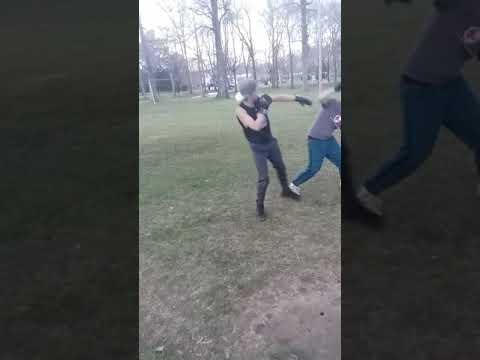 Matthew wilson fight at park🤘🤘