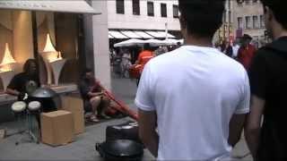 Потрясающие уличные музыканты в Кёльне!