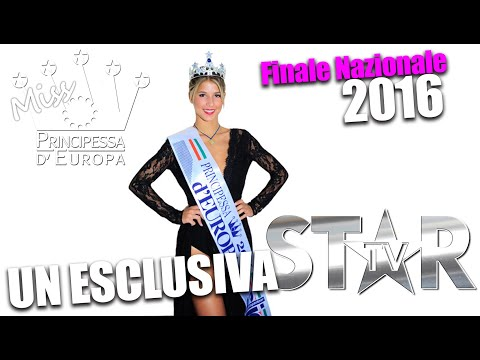 Miss Principessa Europa 2016 - Finale Nazionale HD