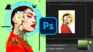 Digital ART PROCESS Photoshop Illustration | Deh Andre