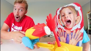 Father & Son PLAY PIE FACE CANNON!