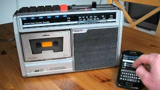 Retro internet radio using SqueezeLite on Raspberry Pi