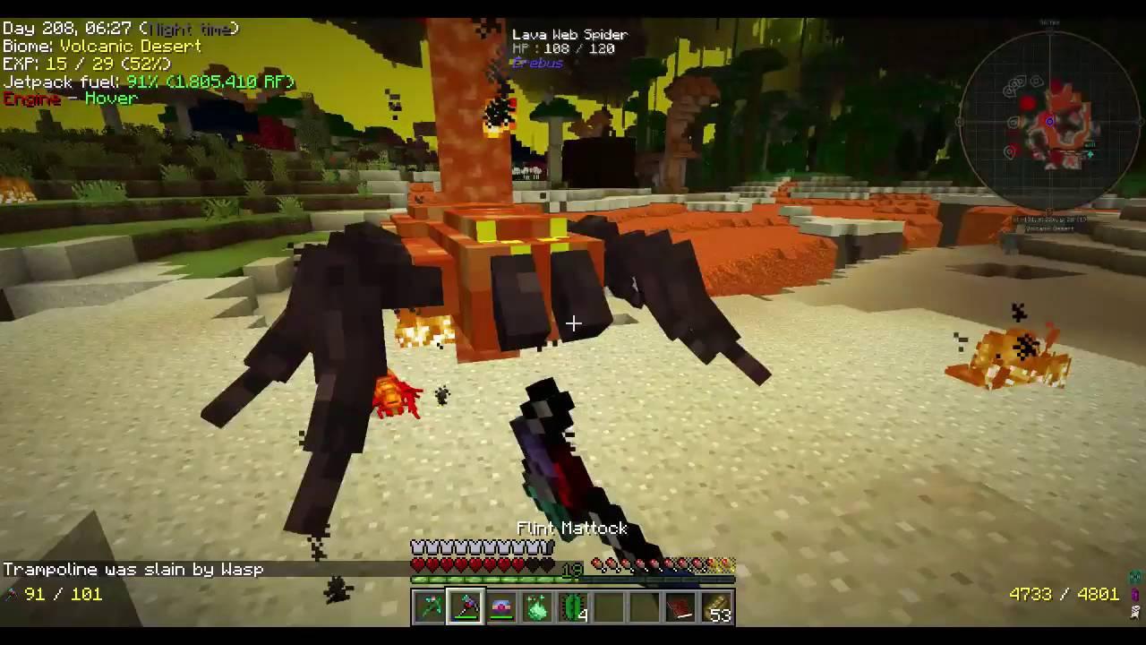 Minecraft Project ozone 2 (Titan Mode) Episode 11 Erebus Adventure