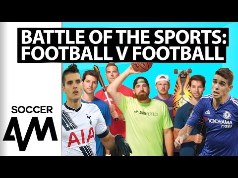 Dude Perfect, Oscar and Lamela: Football v Football Challenge