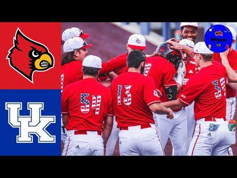 #7 Louisville vs Kentucky Highlights | 2021 College Baseball Highlights