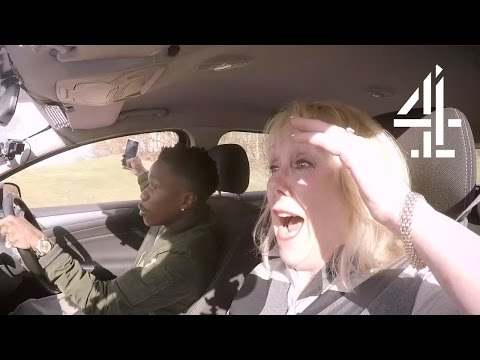 Tinchy Stryder Takes A Selfie While Driving | Driven to Distraction