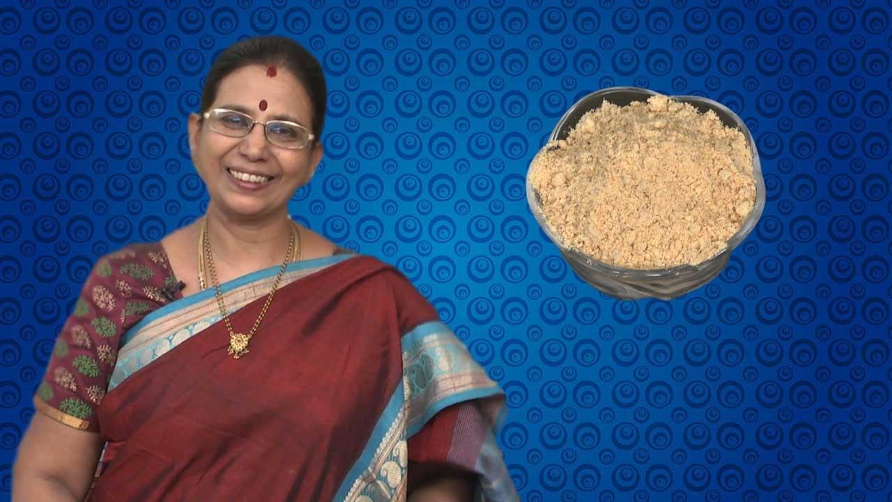 how to make sambar podi in tamil