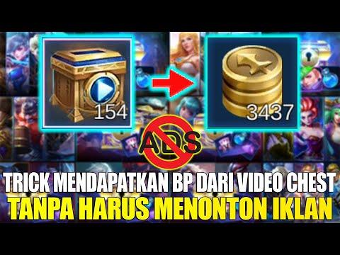 BURUAN DICOBA!!! TRICK MENGUBAH VIDEO CHEST KE BATTLE POINT TANPA HARUS NONTON IKLAN! MOBILE LEGENDS