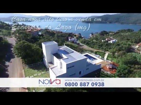 Casa nova alto luxo a venda em Escarpas do Lago - Capitólio (MG)