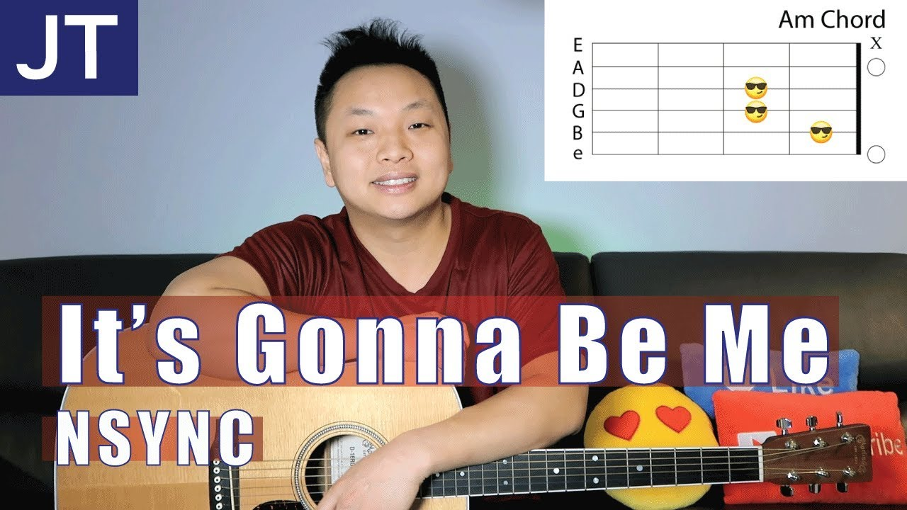 Its Gonna Be Me Nsync Guitar Tutorial Youtube