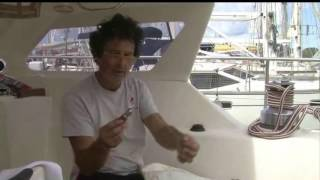 Easy stiching for boat canvas repair