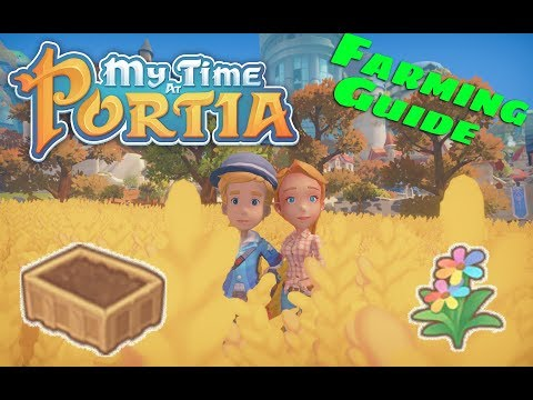 my time at portia helpers storage box