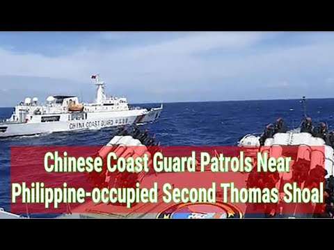 Chinese Coast Guard Patrols Near Philippine-occupied Second Thomas Shoal