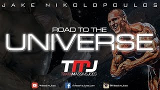 Jake Nikolopoulos Road to The Universe 2015 | Episode 12: Chest Workout | MassiveJoes.com