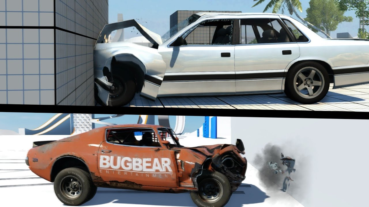 Car Simulator Games >> BeamNG VS Next Car Game - YouTube