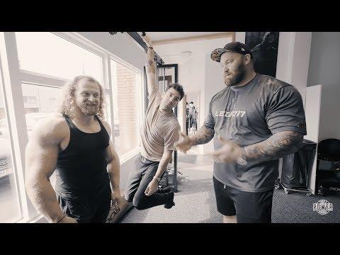 Jujimufu and Tom LATE for training! | Thor Bjornsson