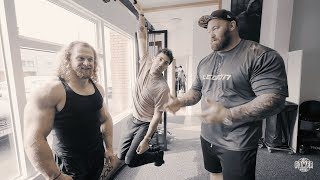 Jujimufu and Tom LATE for training! | Thor Bjornsson