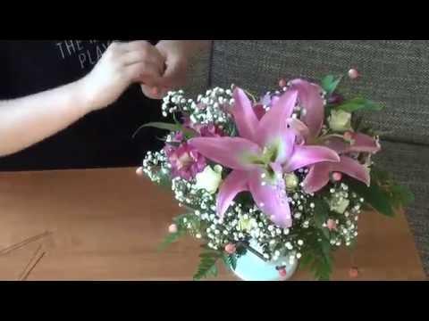 Букеты из лилий живых цветов мастер класс, букет цветов день