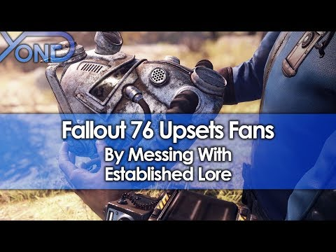 Fallout 76 Upsets Fans by Messing with Established Lore