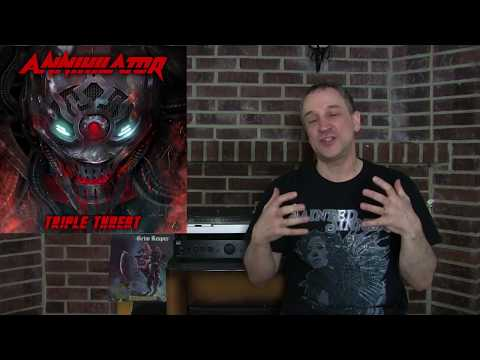 Annihilator Jeff Waters Interview- New Album October 2017- Megadeth offers & Big 6 Canadian Thrash