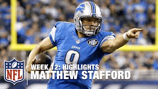 Matthew Stafford Carves Up the Eagles for 5 TD Passes! | Eagles vs. Lions | NFL