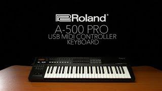 Roland A-500 Pro USB MIDI Controller Keyboard | Gear4music