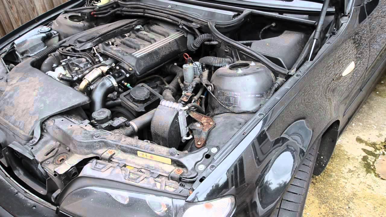 Best Brake Pads >> BMW E46 330d nasty power steering noise - YouTube