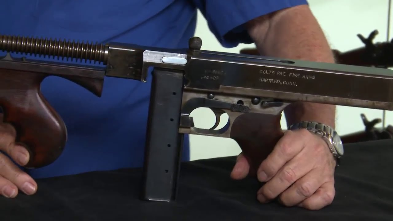 machine gun vs submachine gun