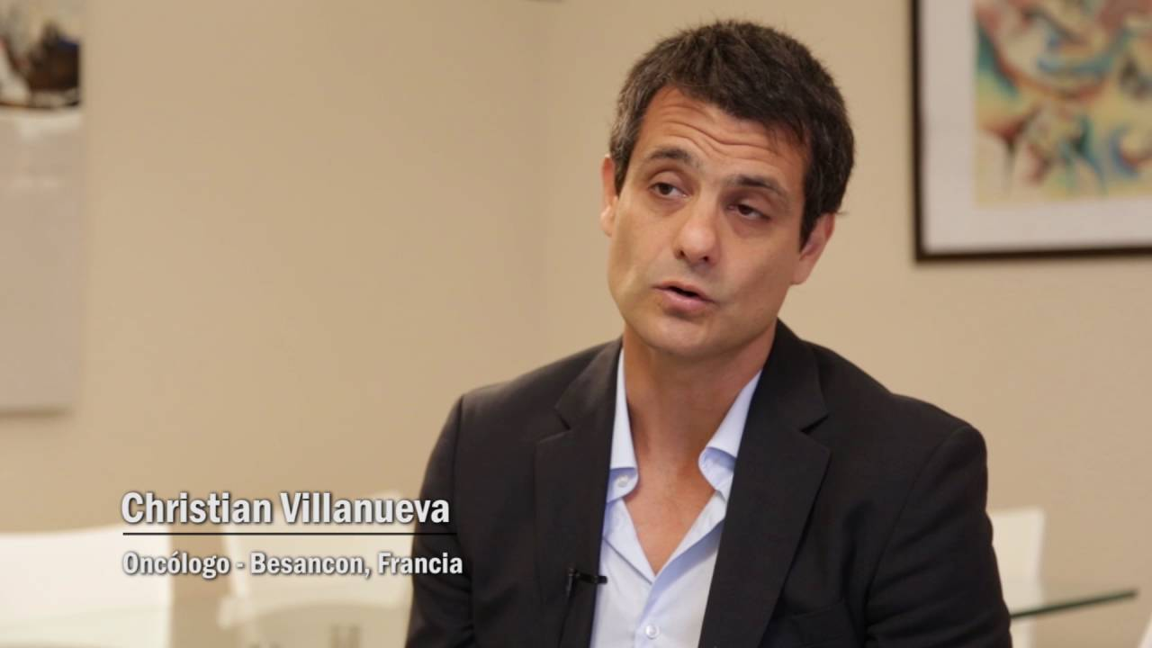 Christian Villanueva - Oncólogo - Besancon - YouTube