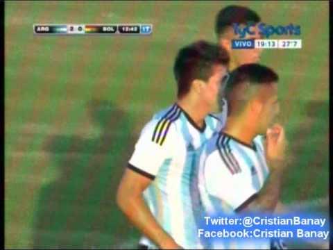 Argentina 3  Bolivia 0  (CX12 Radio Oriental) Sudamericano Sub 20 2015