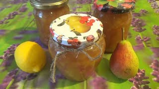 Варенье из груш с лимоном   Jam from pears with lemon