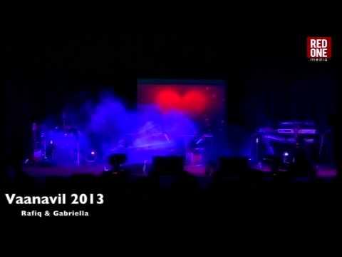 Jodi no.1 Fame - Raffiq Gabriella in Vaanavil 2013 - RedONE Media Production