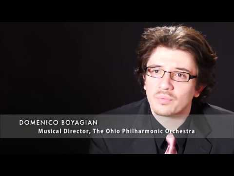Ohio Philharmonic Orchestra: A Moment with Conductor Domenico Boyagian