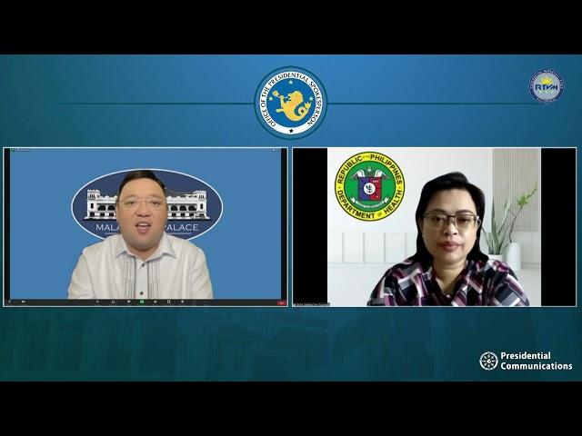 Press Briefing by Presidential Spokesperson Harry Roque, Jr. 9/27/2021