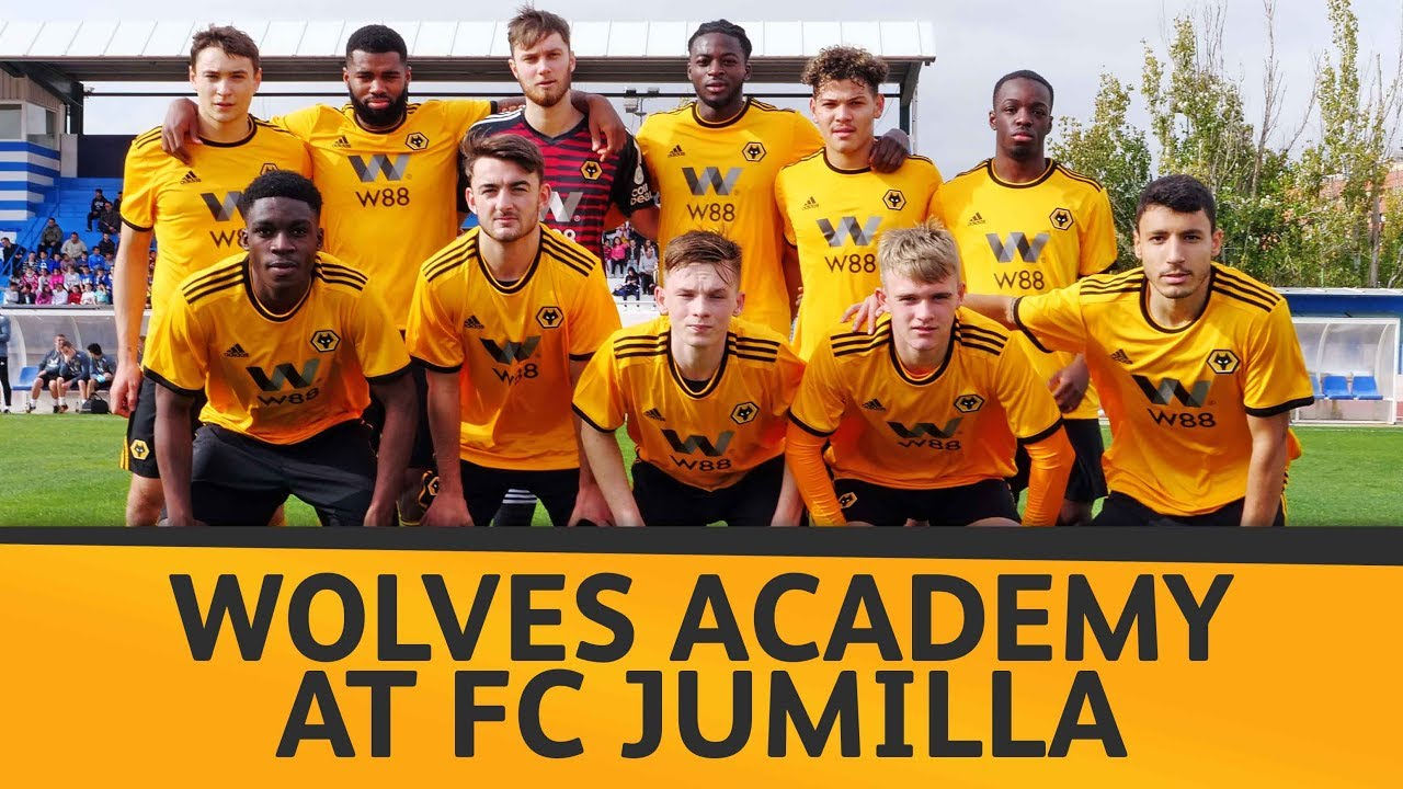 Mini Movie Wolves Academy Visits Fc Jumilla Youtube