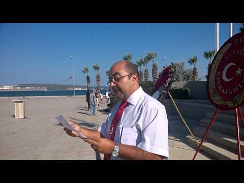 ALİAĞA'DA ADD ve CHP'LİLERİN 30 AĞUSTOS KUTLAMASI