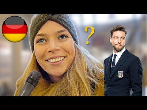 Le TEDESCHE sposerebbero un ITALIANO ? Domande a Berlino - thepillow