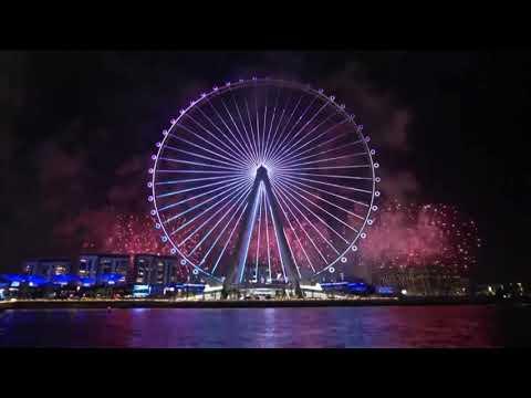 World's largest ferris wheel opens in Dubai