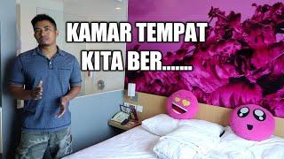 REVIEW KAMAR HOTEL DI SOLO..BISA BUAT NGINTIP ORANG MANDI GUYS...